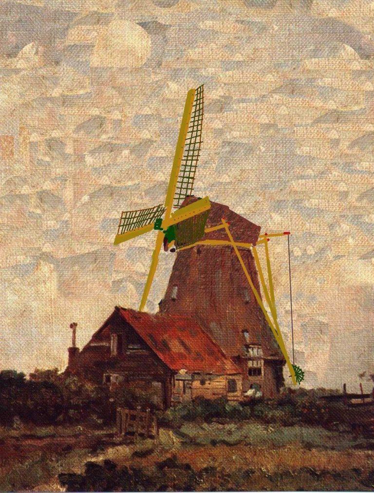 Oorspronkelijke molen  Watergraafsmeer